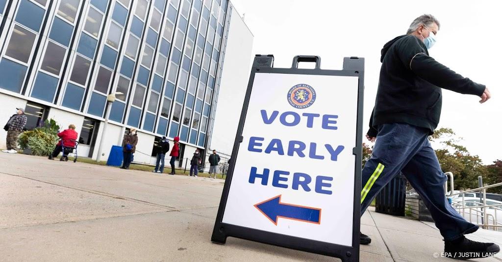 Recordaantal Amerikanen stemde al voor presidentsverkiezingen