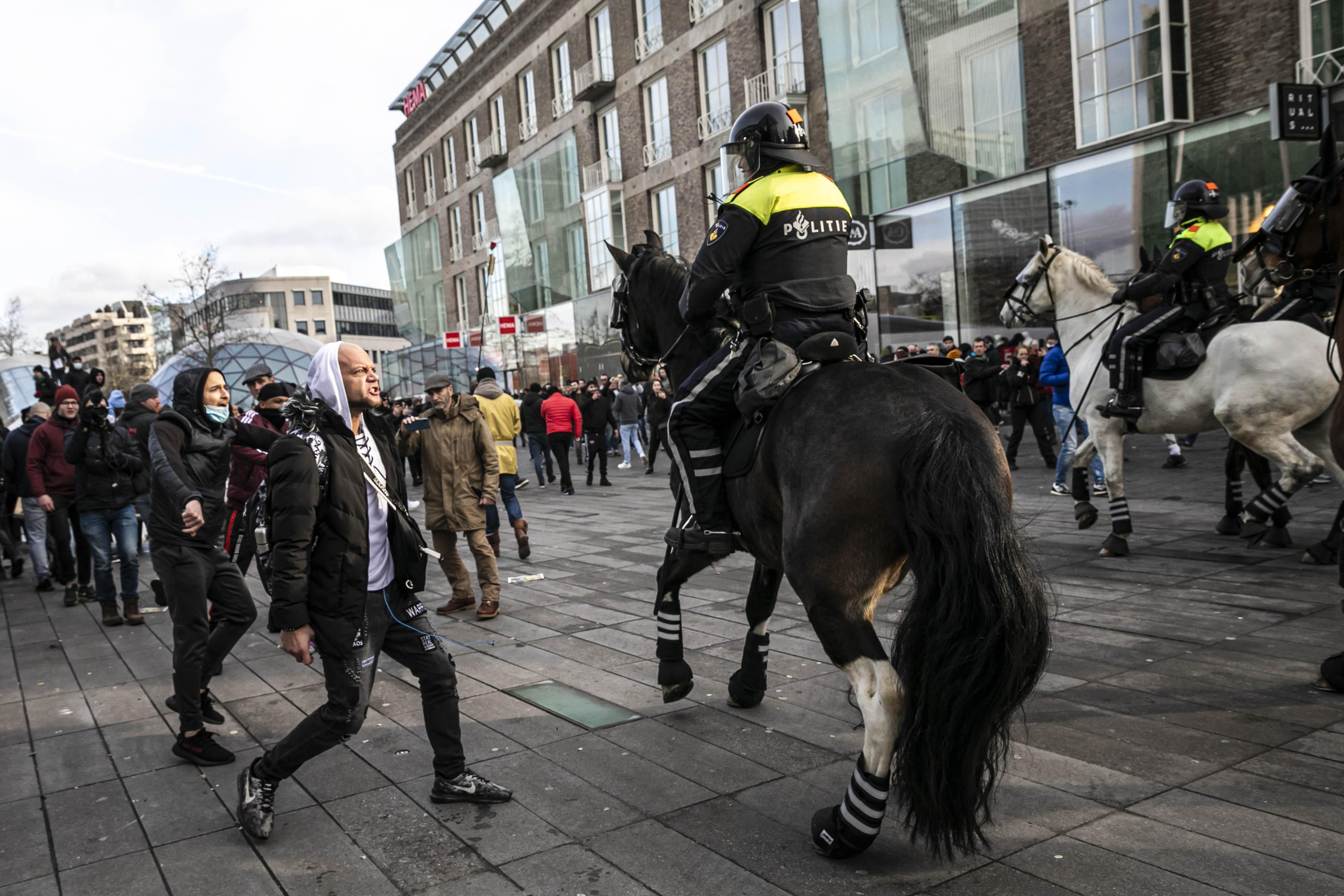 Dierenorganisaties: 'Stop met inzet van politiepaarden en -honden'