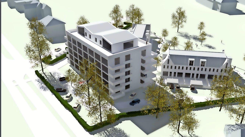 Bouwplan voormalig KPN-terrein in Bussum mag verder; Ondanks afwijken van Woonvisie en parkeernorm