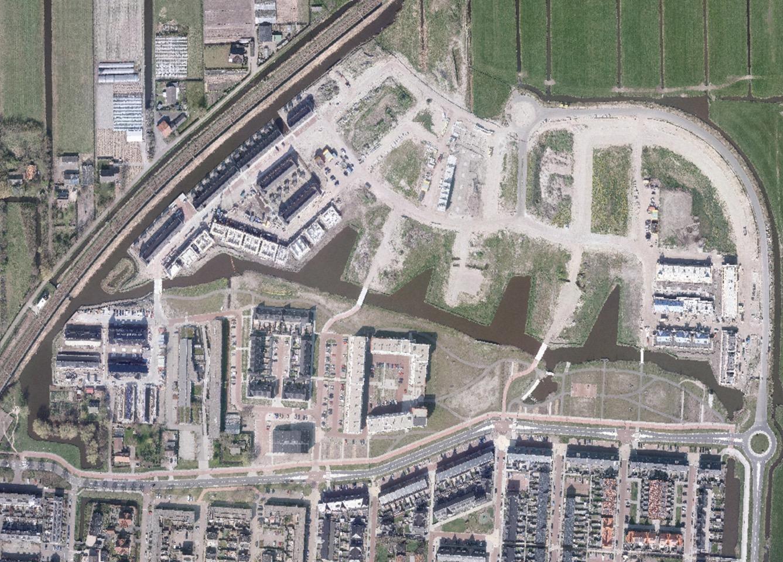 Van de bijna negenhonderd geplande woningen in de wijk Hooghkamer is het overgrote deel al af