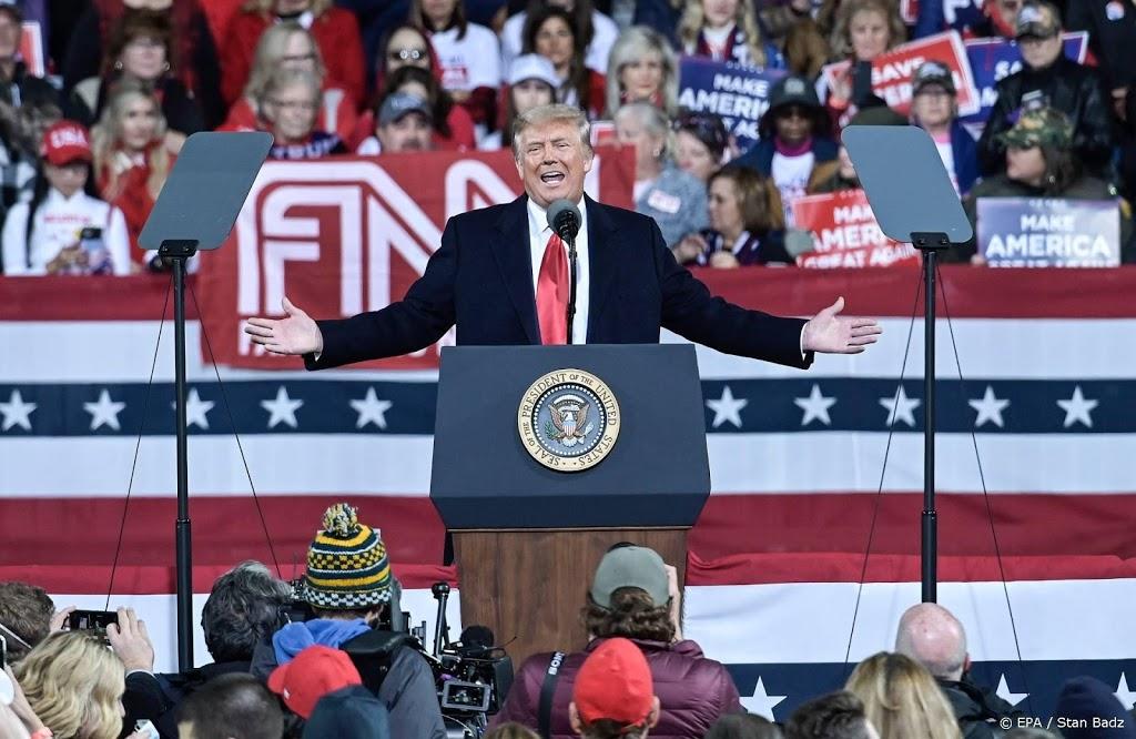 Trump: we zijn deze verkiezing aan het winnen