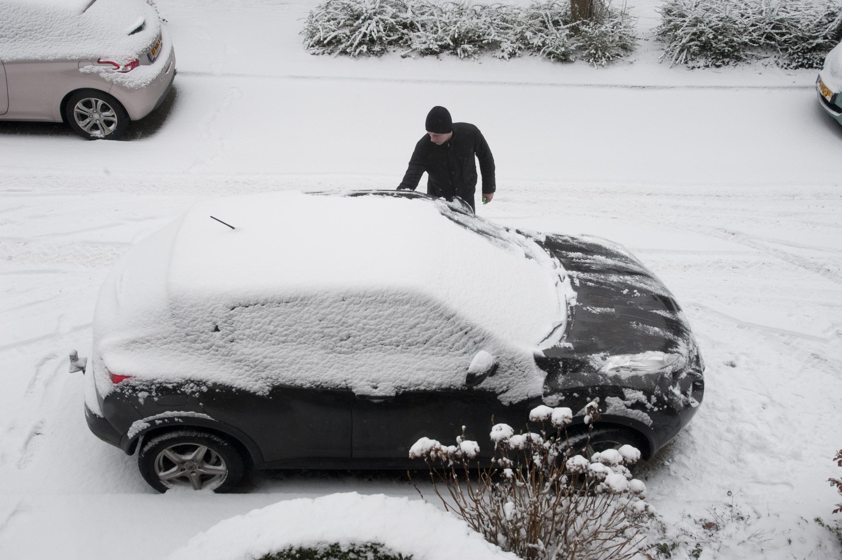 Stuur je sneeuwfoto naar IJmuider Courant/Dagblad Kennemerland