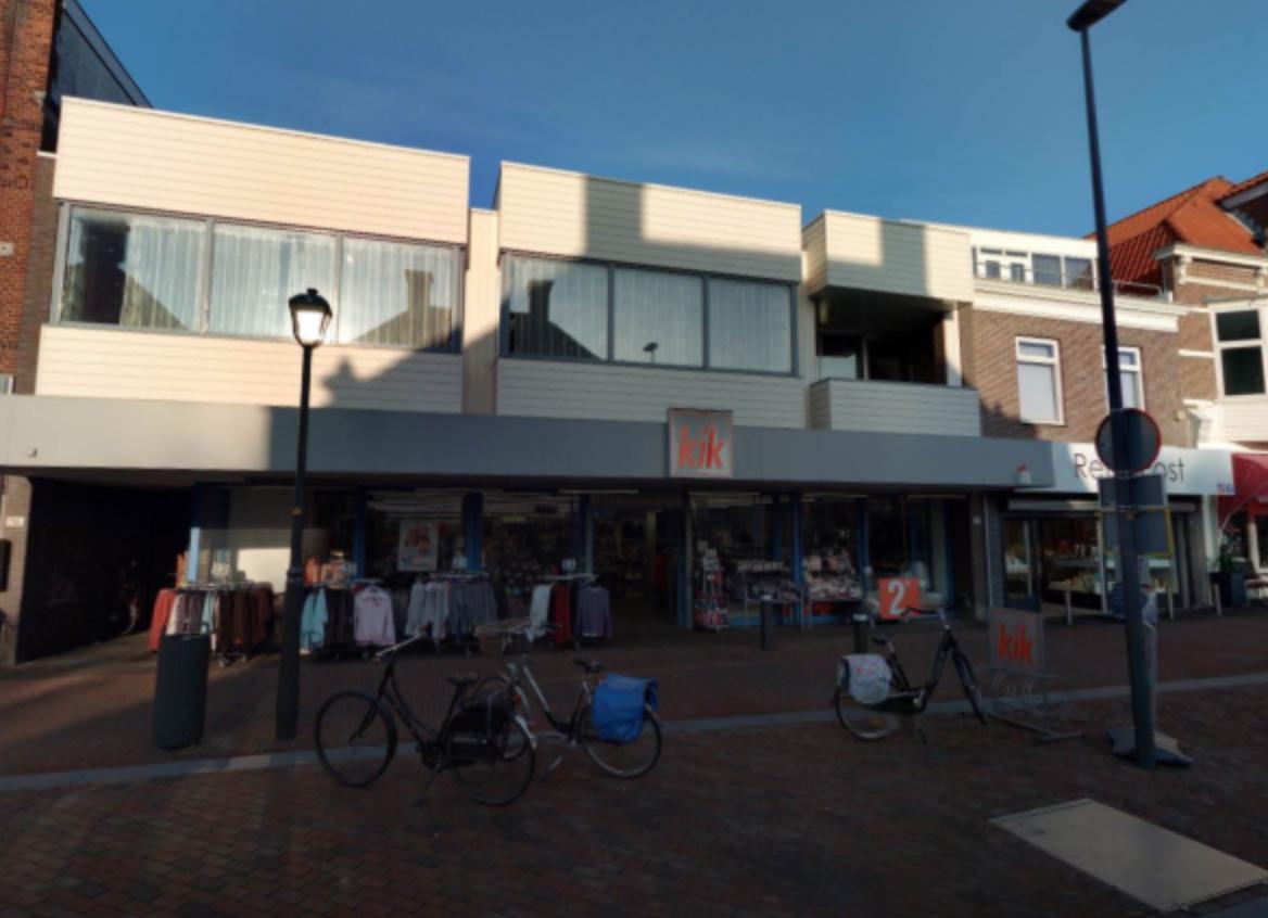 Appartementen en winkels in voormalig pand Kik op Beverwijkse Breestraat