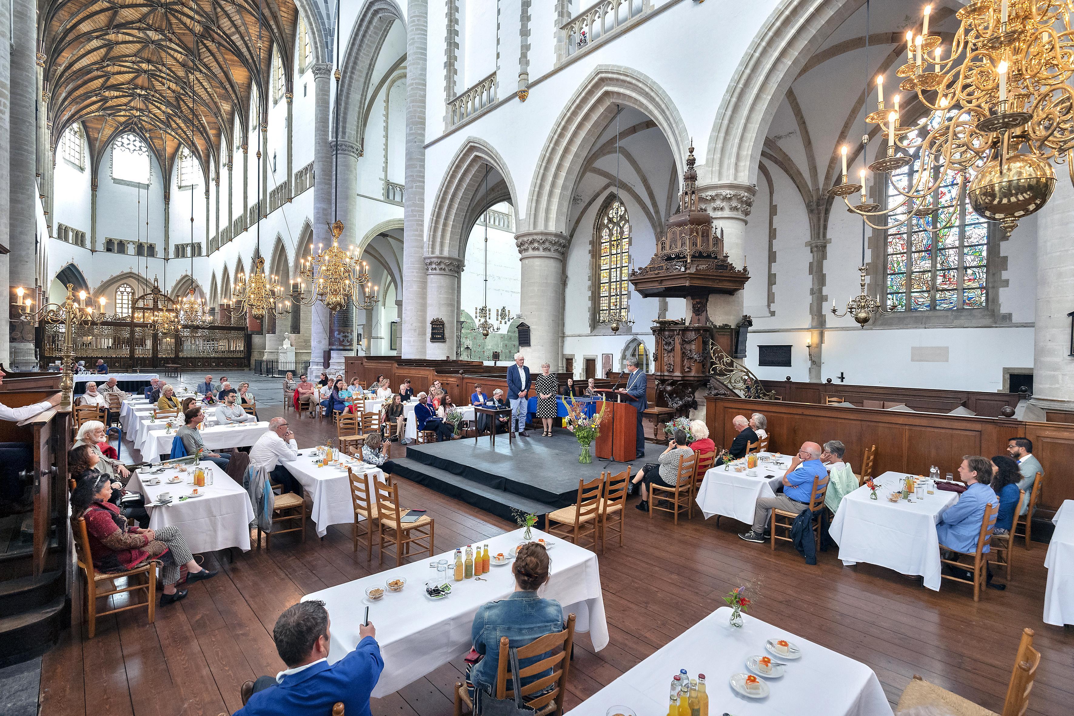 Eindelijk officiële plechtigheid bij de Haarlemse lintjes