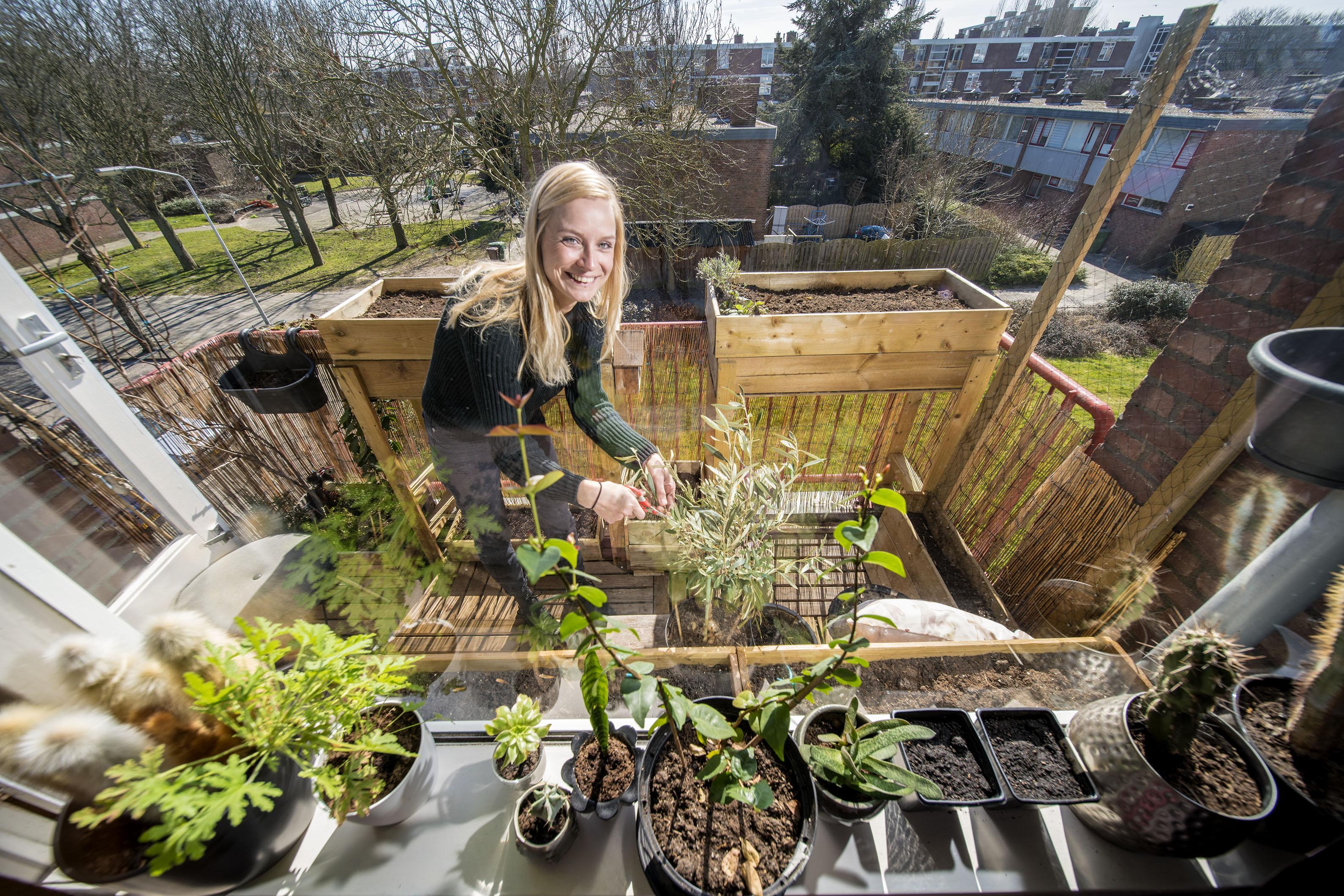'Tuinier zonder tuin' haalt de lente binnen