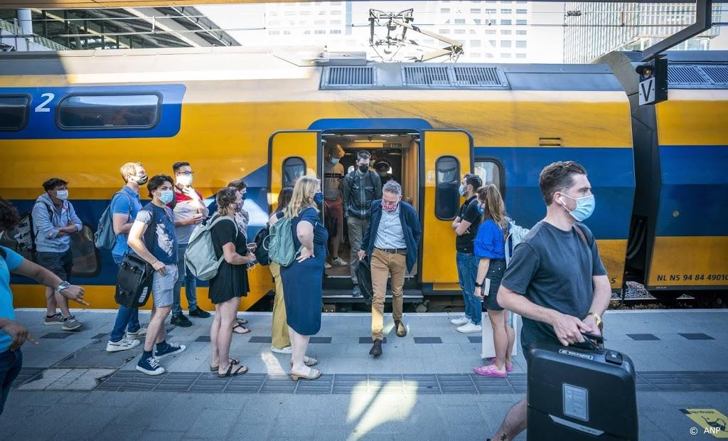 Aantal reizigers in treinen blijft toenemen