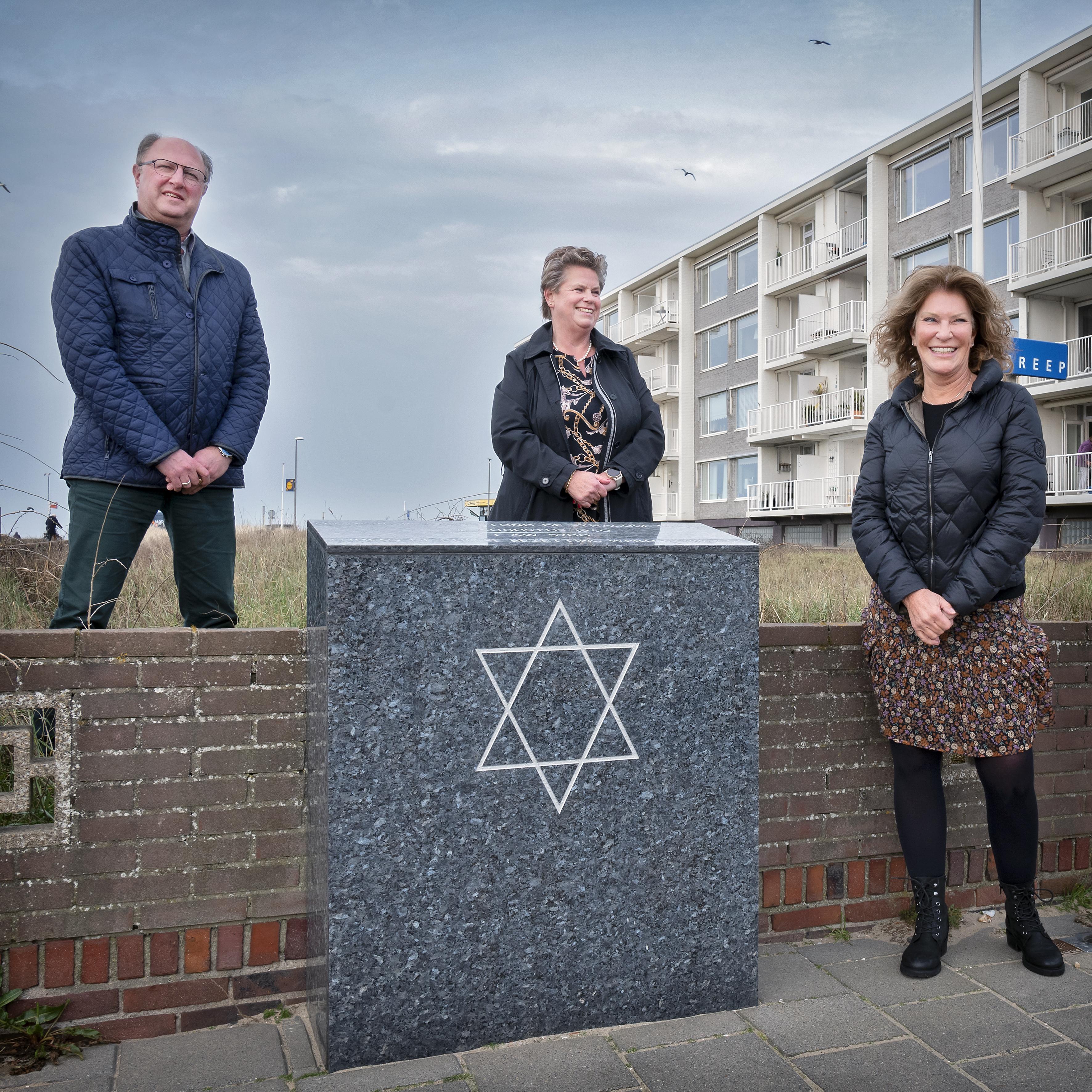 'Ziggokastje' maakt plaats voor volwassen joods herdenkingsmonument in Zandvoort