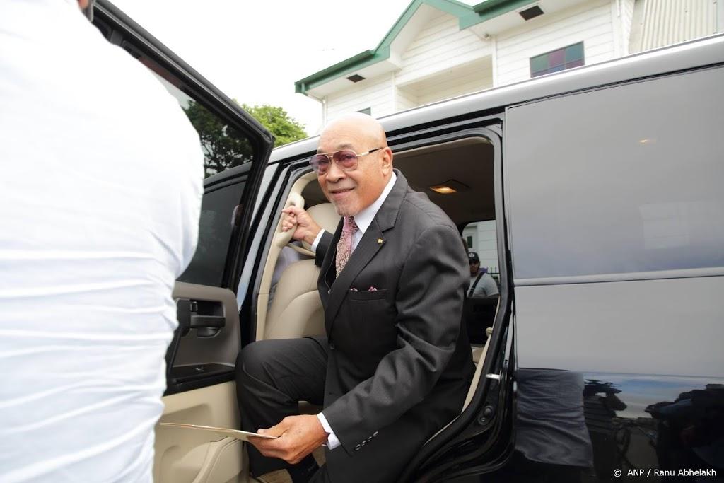 Surinaamse president wil onderzoek naar uitspraken Bouterse