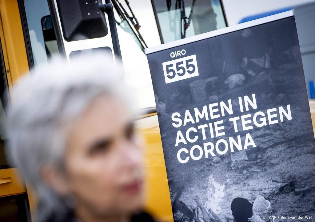 Deel opbrengst corona-actie Giro555 naar Suriname