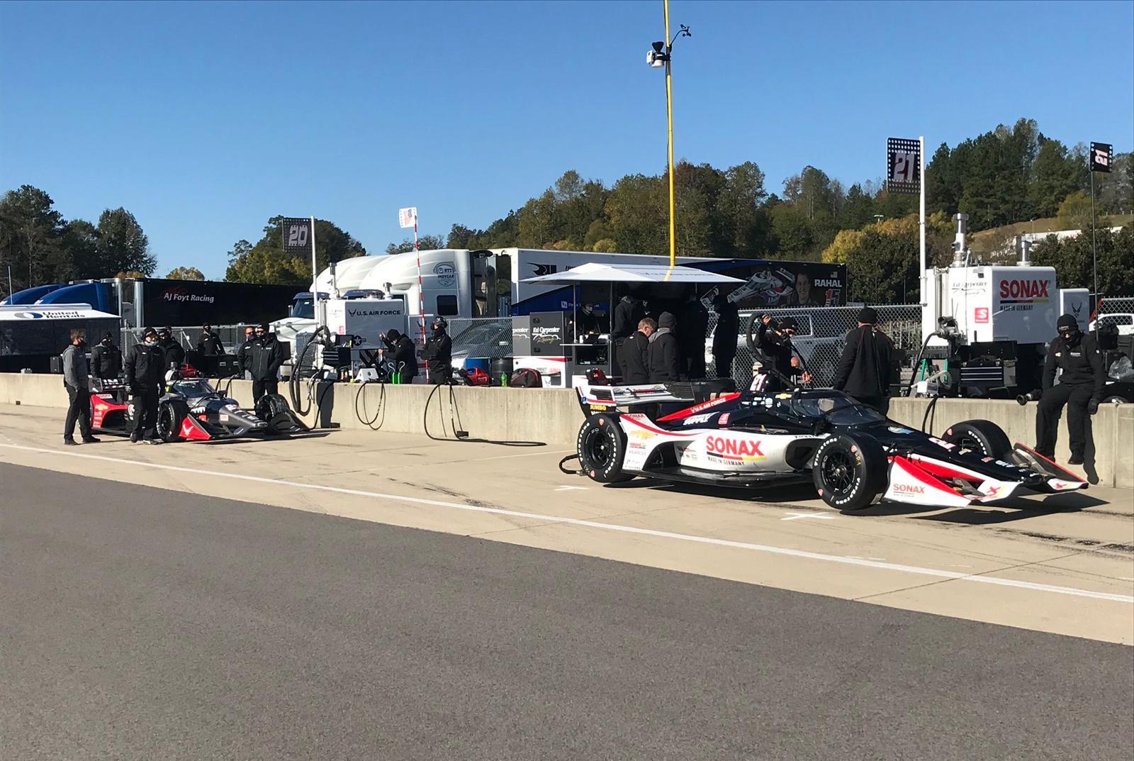Rinus van Kalmthout maakt indruk tijdens eerste testdag voor IndyCar seizoen 2021