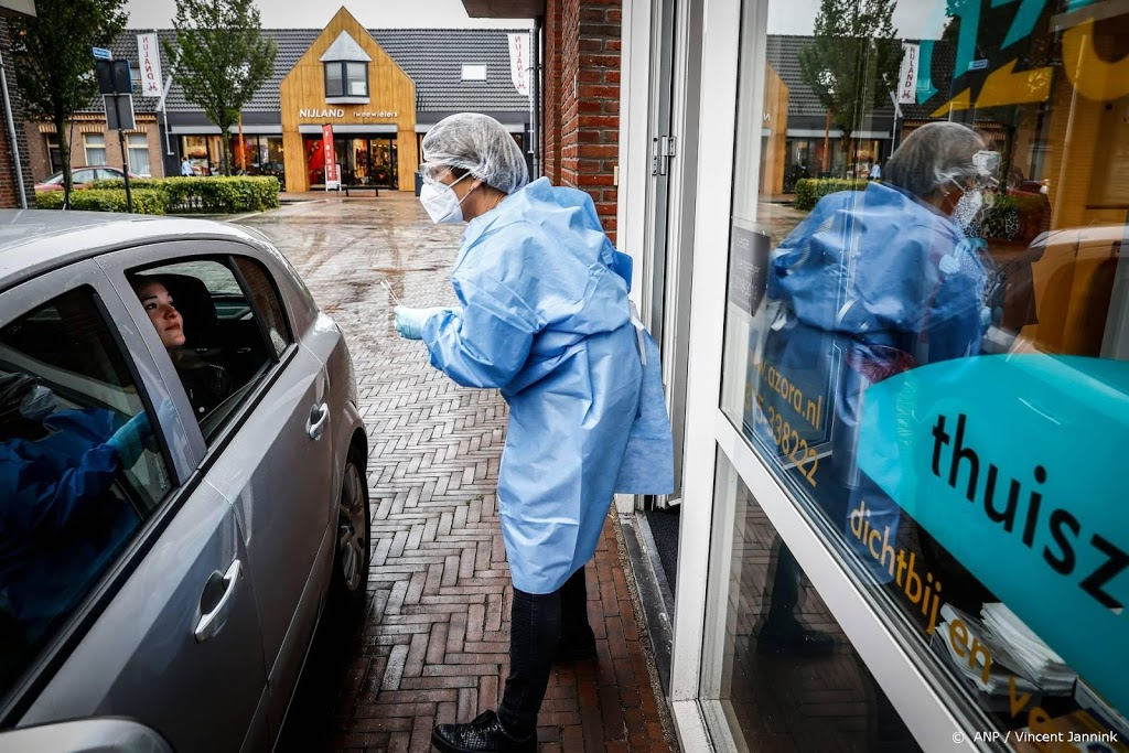 Half miljoenste Nederlander positief getest op coronavirus