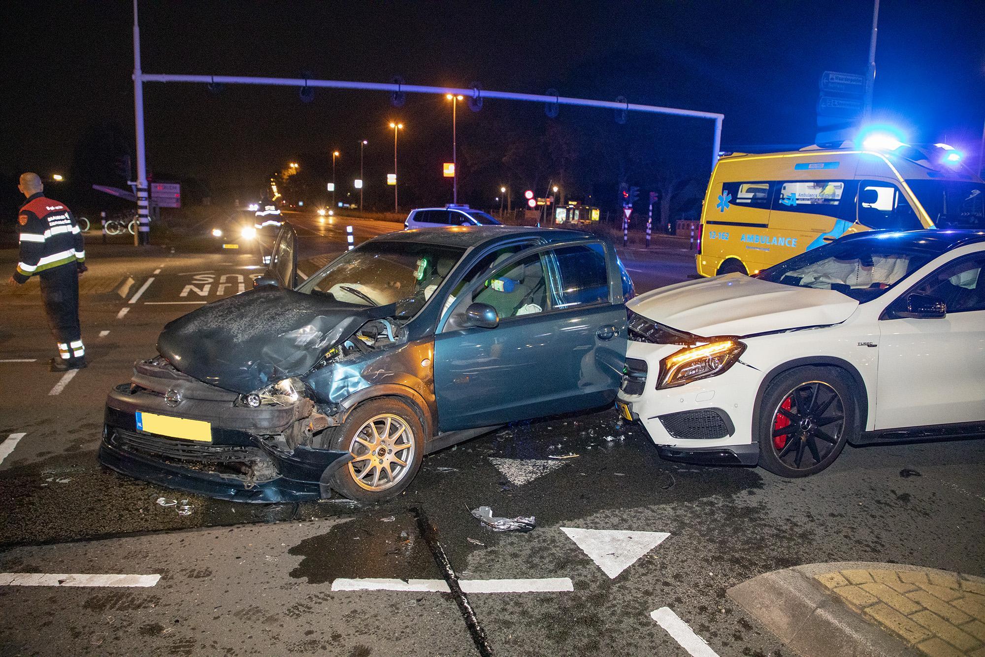 Gewonde bij ongeval op Schipholweg in Haarlem