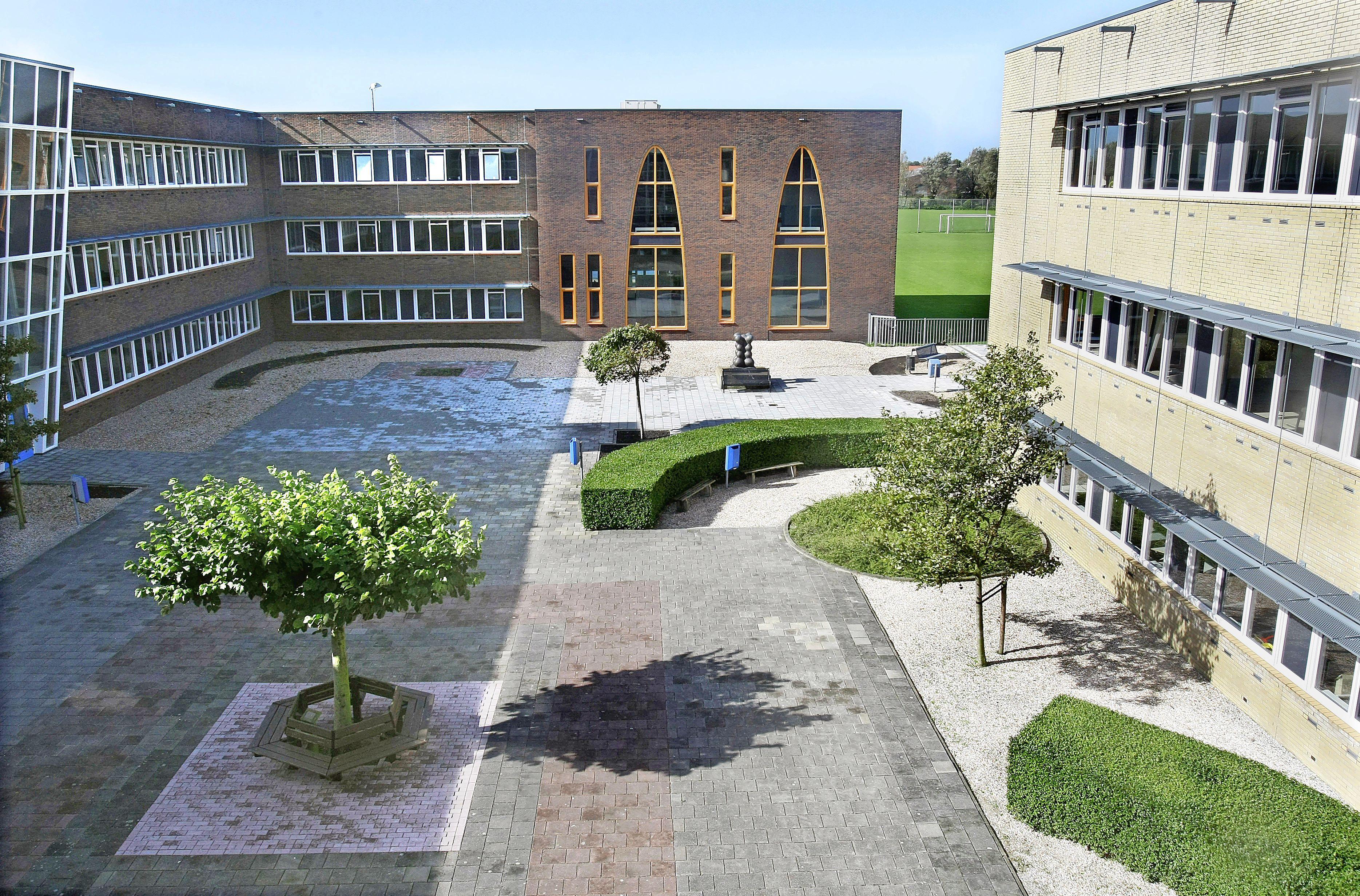 Leerlingen Northgo College ontwikkelen mini bos op schoolplein