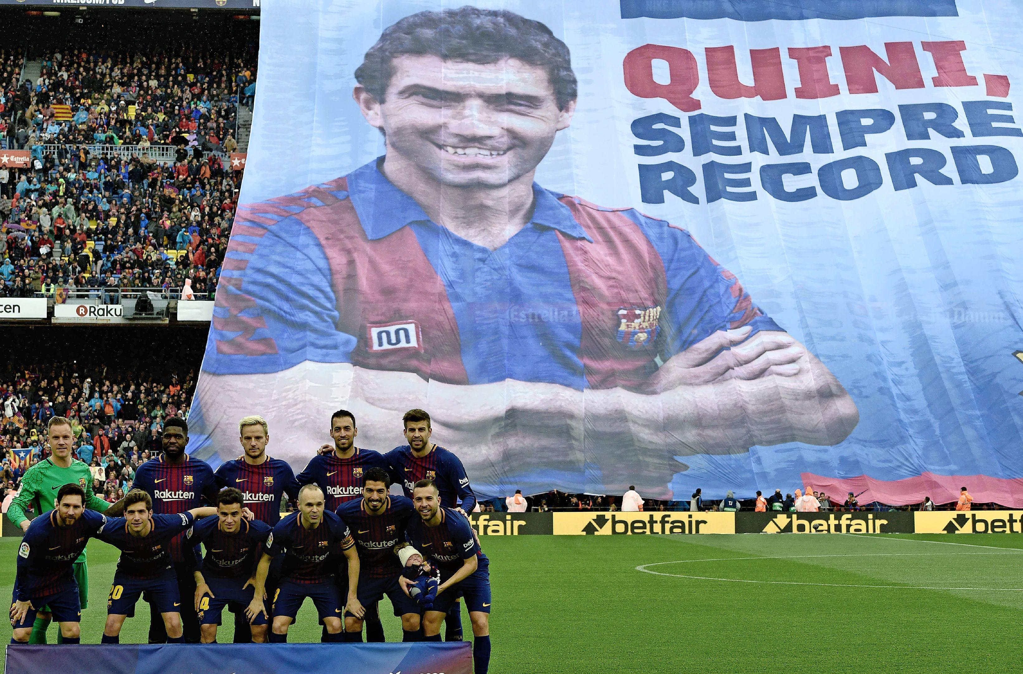 Op deze dag in 1981: Barcelona-voetballer Enrique 'Quini' Carlos Gonzáles wordt buiten Camp Nou opgewacht en ontvoerd. Zijn bevrijding volgt pas na 25 dagen