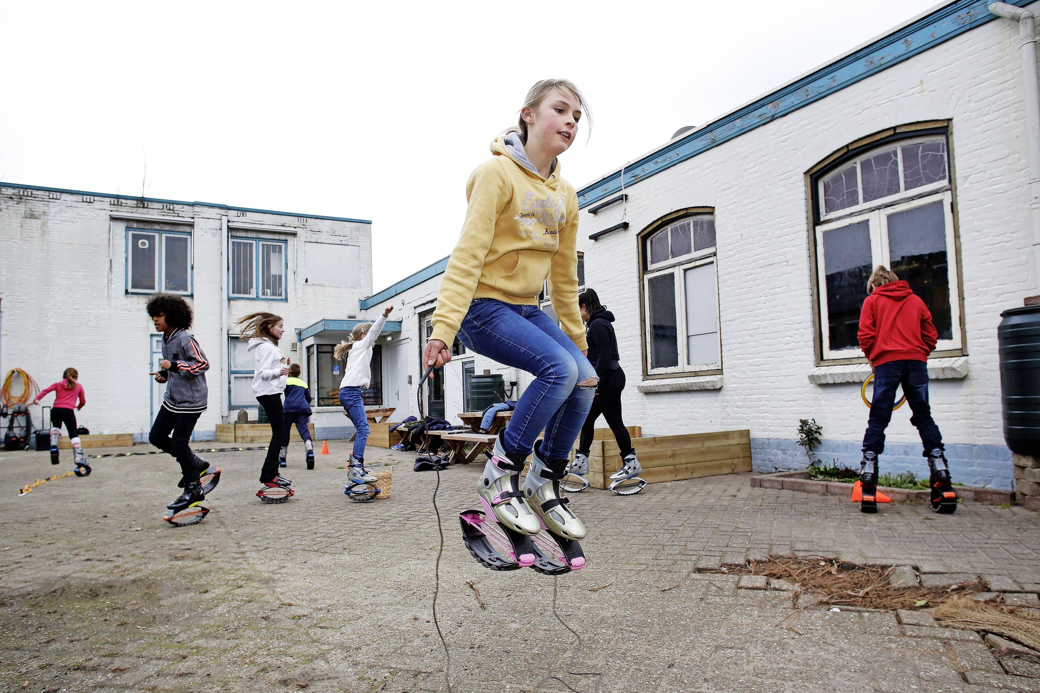 Springen als een kangoeroe bij Vonk in Hilversum voor '30 dagen gezonder'-challenge