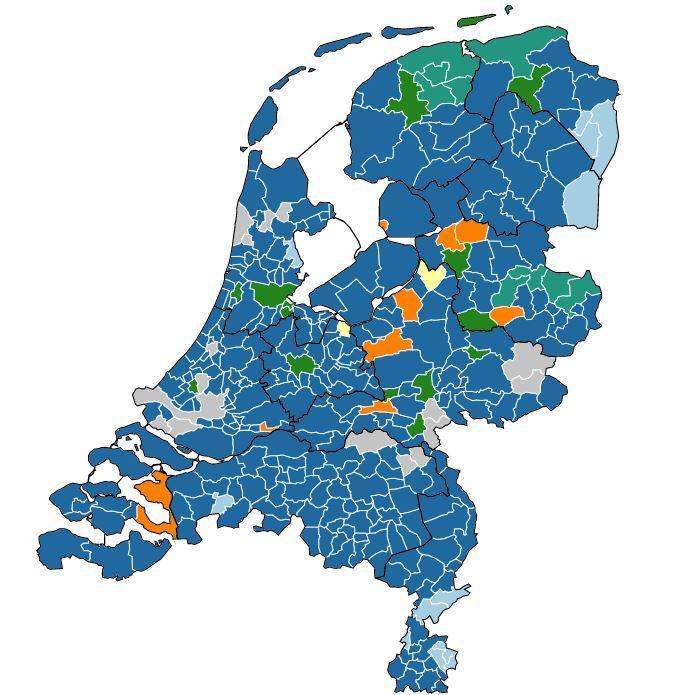 Bekijk hier de uitslagen van de Tweede Kamerverkiezingen in uw regio en landelijk