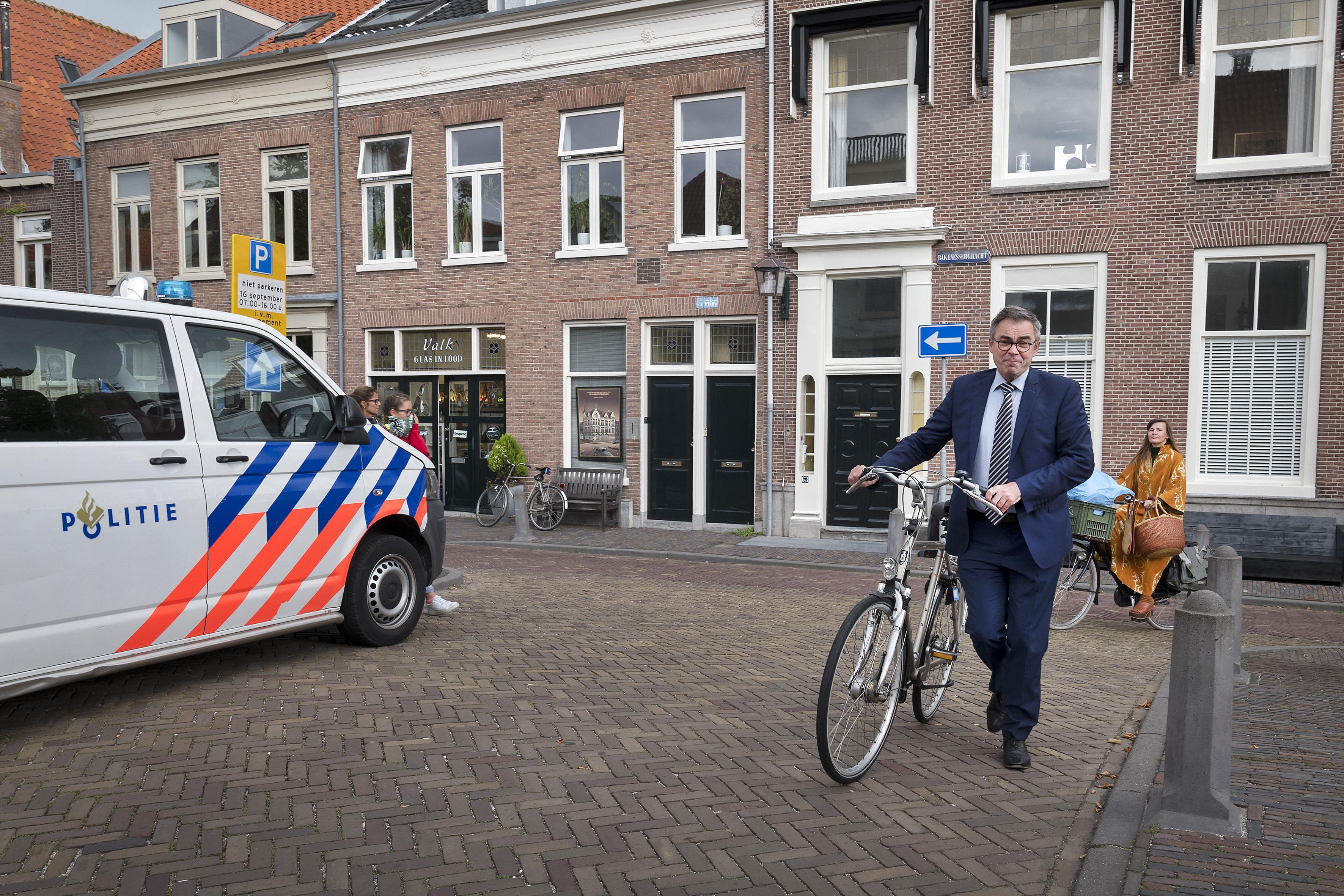 Huis burgemeester Haarlem bewaakt na bedreiging