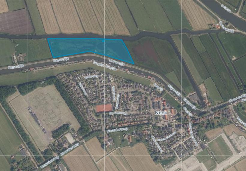 Grondplan ziet kansen aan de Jisperdijk: 'Wonen aan het water in Neck'