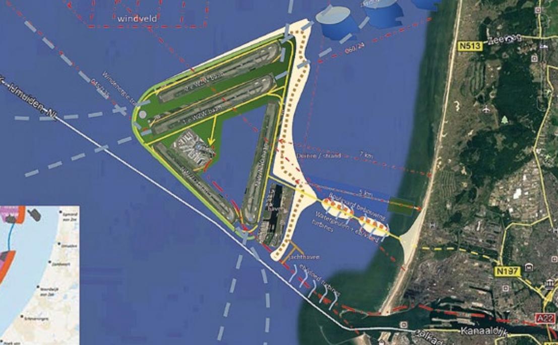 Topman KLM geen voorstander van Schiphol in zee: 'Dromerij'