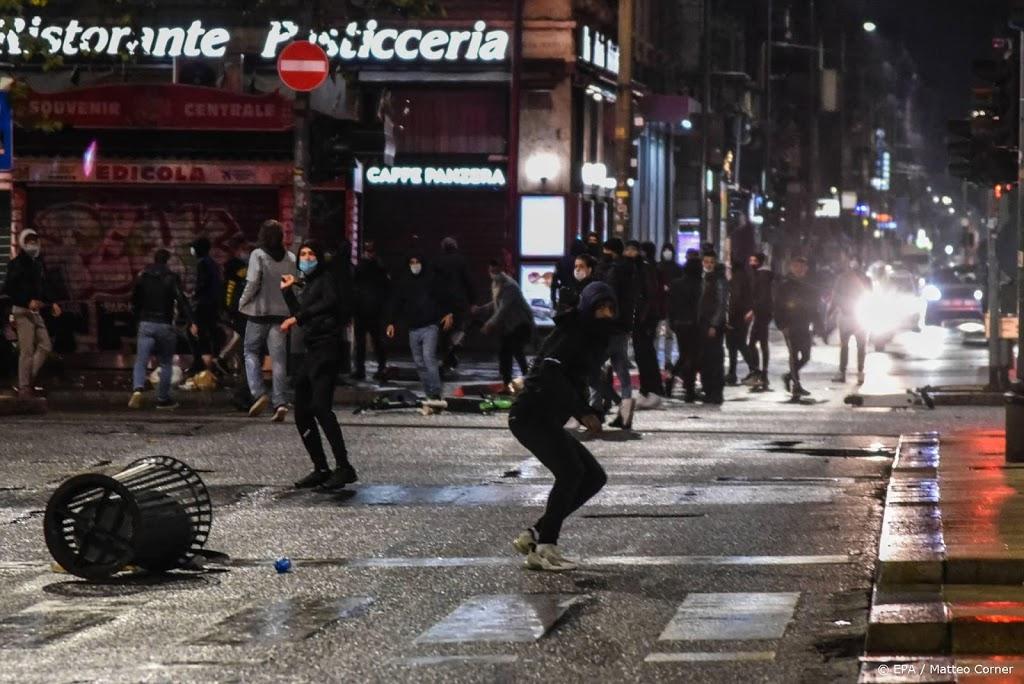 Gewelddadige protesten in Italië om nieuwe coronamaatregelen