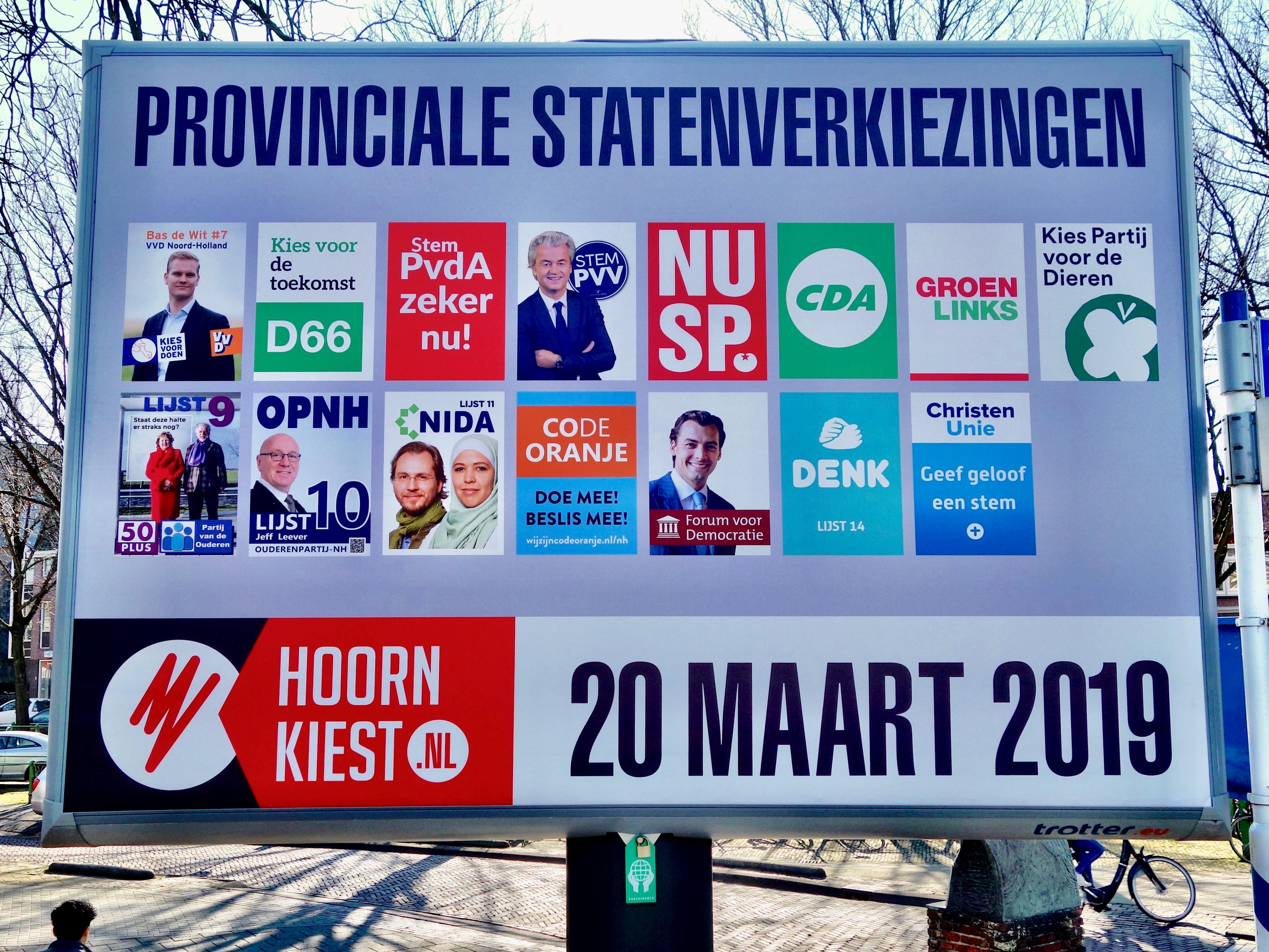 Duwen en trekken voor een plek in Provinciale Staten: West-Friese kandidaten op een rij