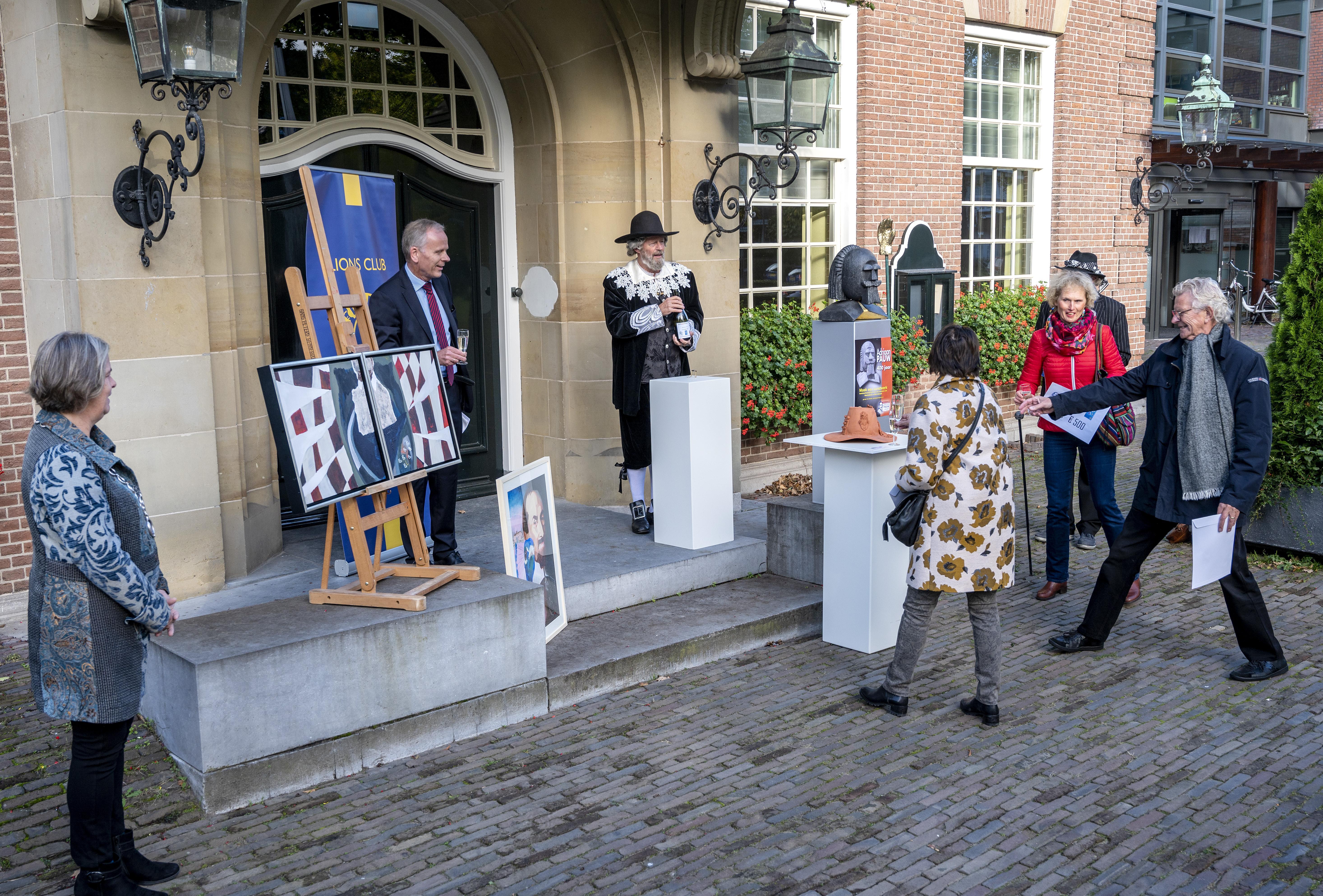 Winnaars kunstwedstrijd Adriaan Pauw in Heemstede laten fantasie de vrije loop: 'Fijne afwisseling in coronatijd'