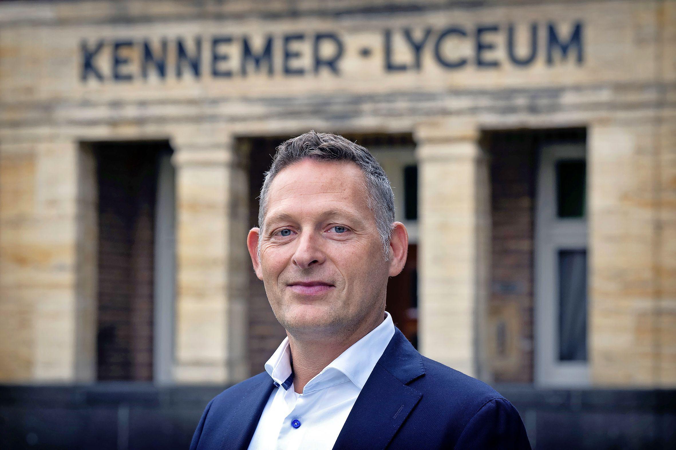 Peter de Zoete vertrekt als rector Kennemer Lyceum Overveen
