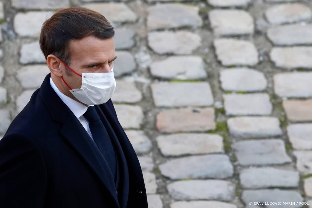 Macron 'erg geschrokken' door politiegeweld tegen zwarte man