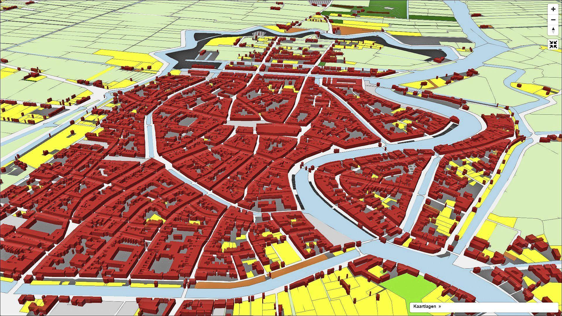 Kadastrale kaarten kuststrook uit 1832 nu digitaal: 'In Haarlem ligt de armoede om de hoek'