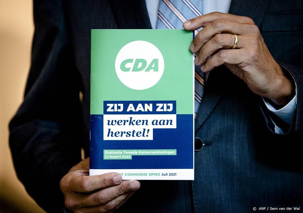 Kritische CDA'ers: rapport Spies gaat niet ver genoeg