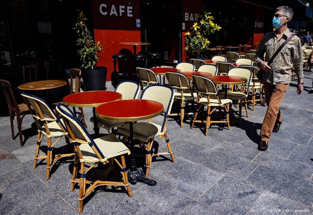 Horeca Parijs dreigt helemaal te moeten sluiten door corona