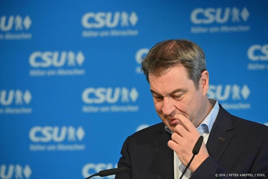 Beierse premier Söder geeft poging om bondskanselier te worden op
