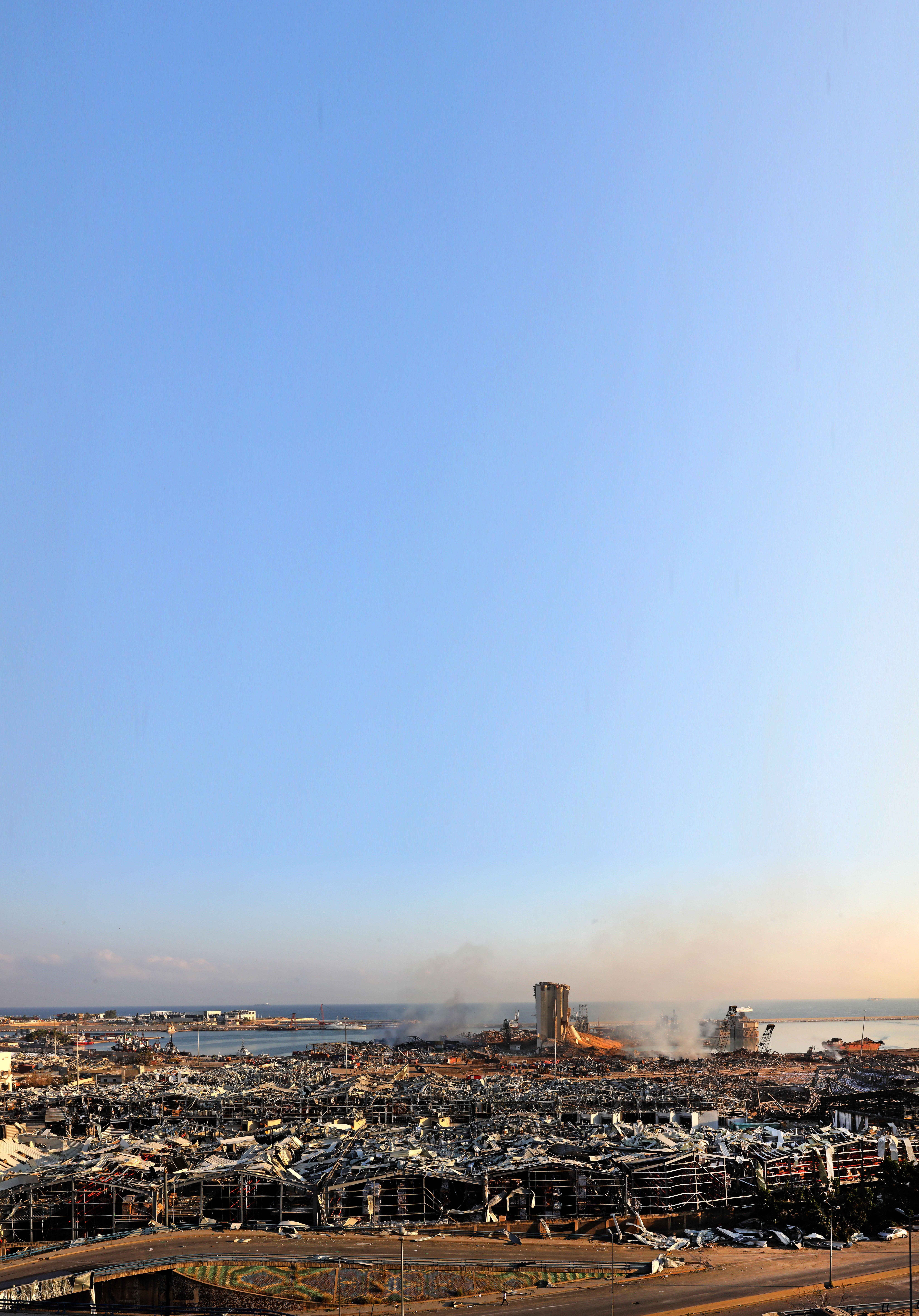 Beiroet zat jaren op een tijdbom: 'Vuurwerk én ammoniumnitraat op dezelfde plek, verschrikkelijk dom', zegt voormalig werknemer DSM IJmuiden