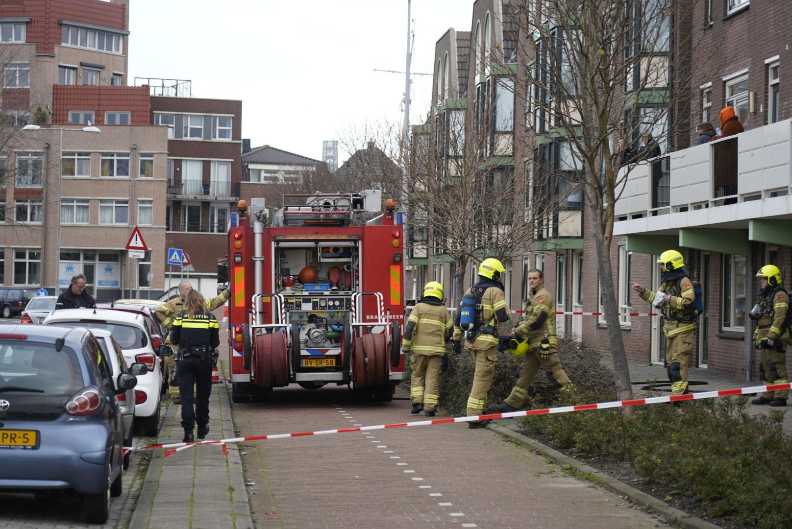 Woningen ontruimd en straat afgezet wegens gaslek Den Helder