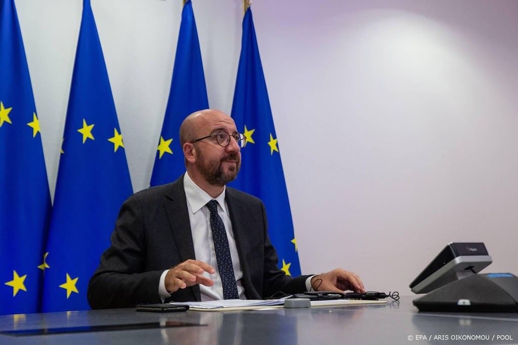 Uitstel top door besmette beveiliger EU-president Michel