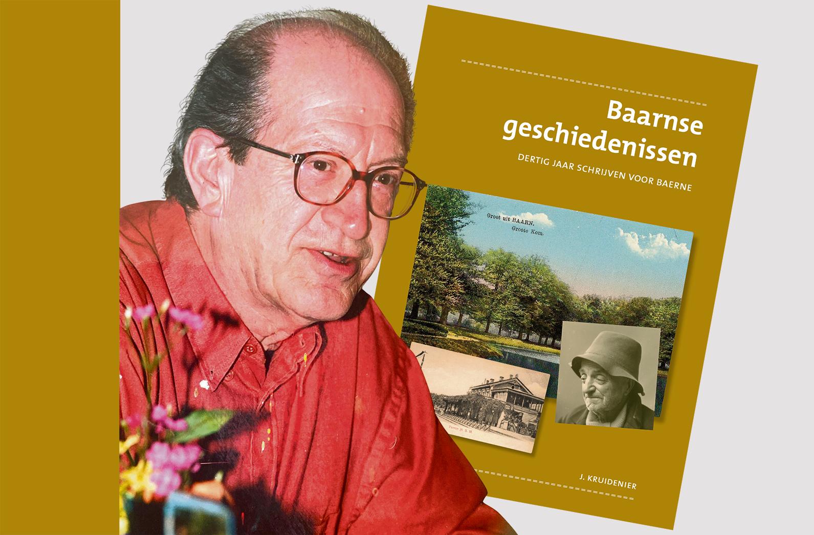 Een bundel vol Baarnse geschiedenissen van Jaap Kruidenier; Over de zus van Van Gogh, de jonge jaren van Hella Haasse, vergeetachtige agenten en ga zo maar door