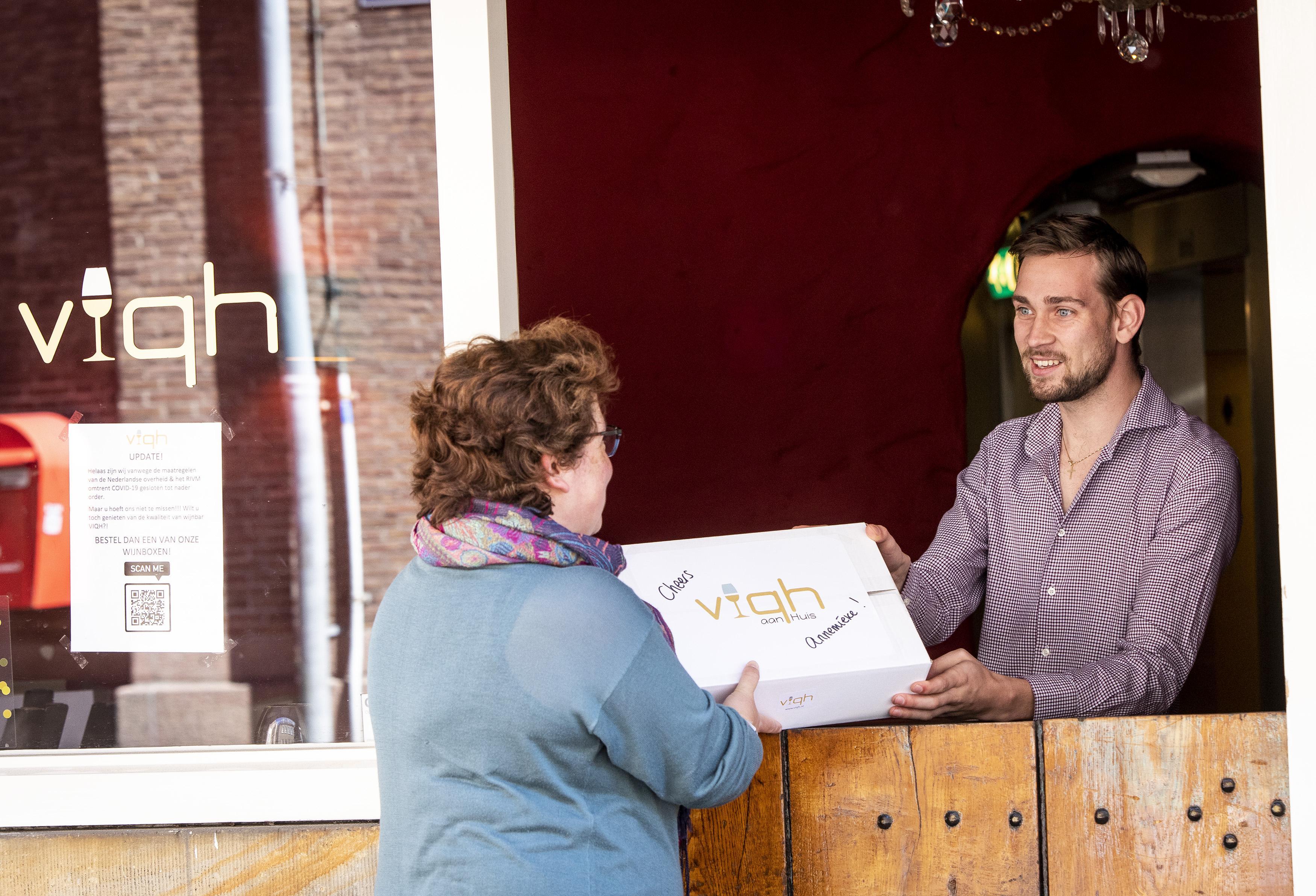 Haarlemse wijnbar Viqh gaat digitaal met proeverijen