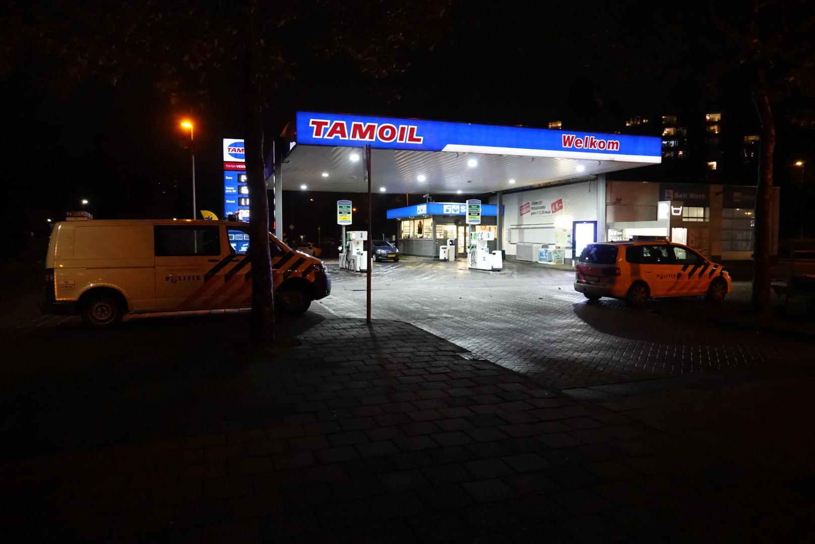 Jongens overvallen tankstation in Purmerend