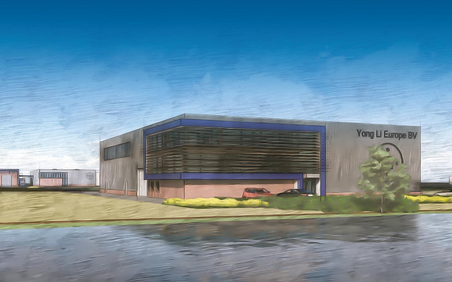 YongLi Europe bouwt productiehal op bedrijventerrein Breekland