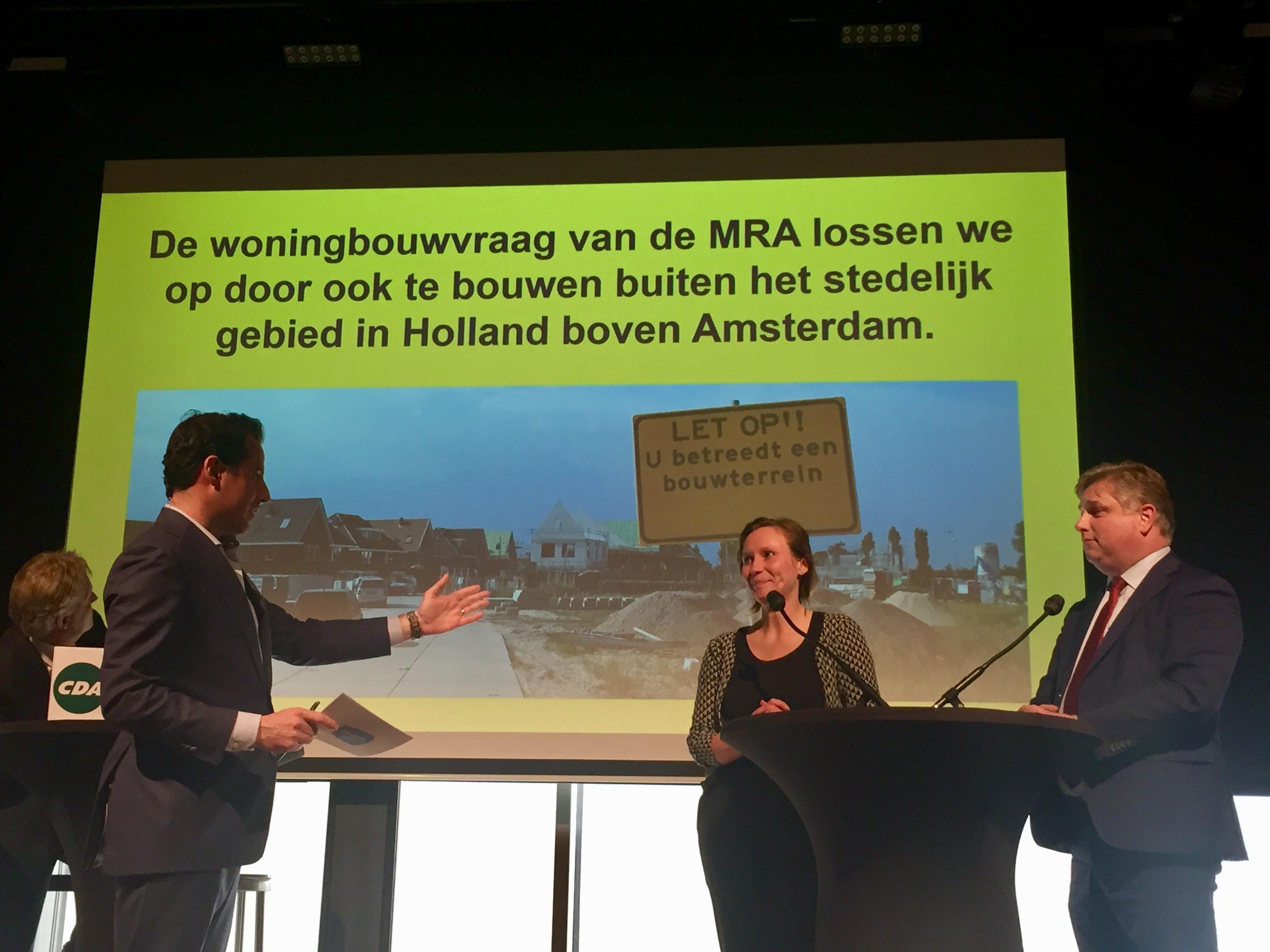 VVD-lijsttrekker Cees Loggen: 'Geen Almere in de polder bouwen'