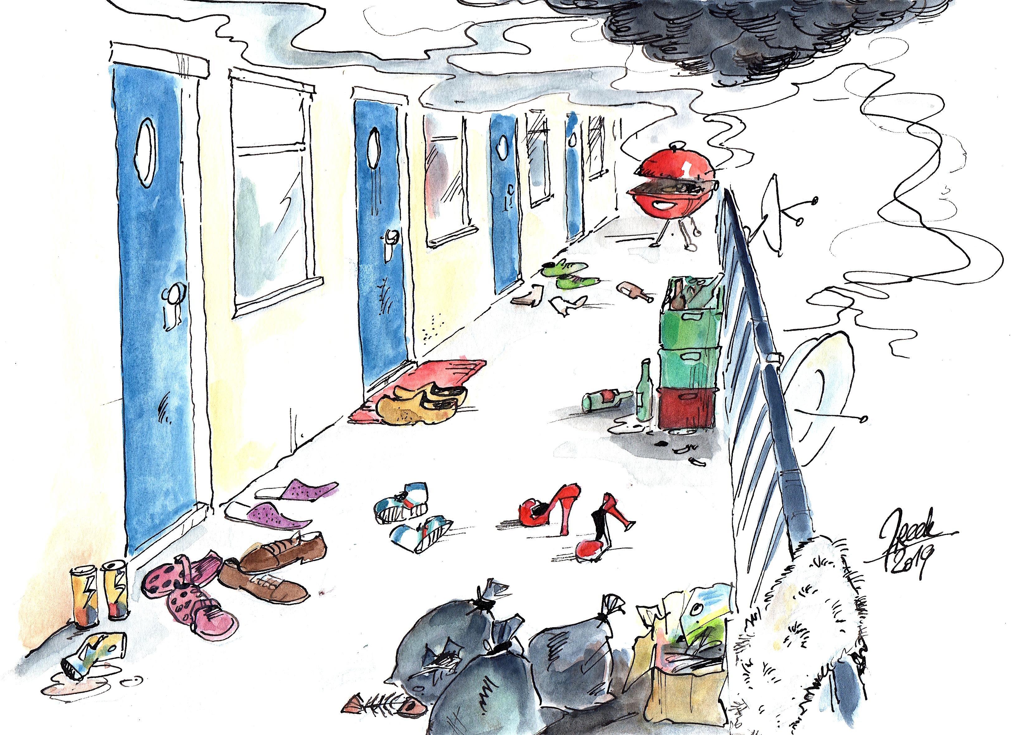 Europawijk: veiligheid kwestie van gevoel