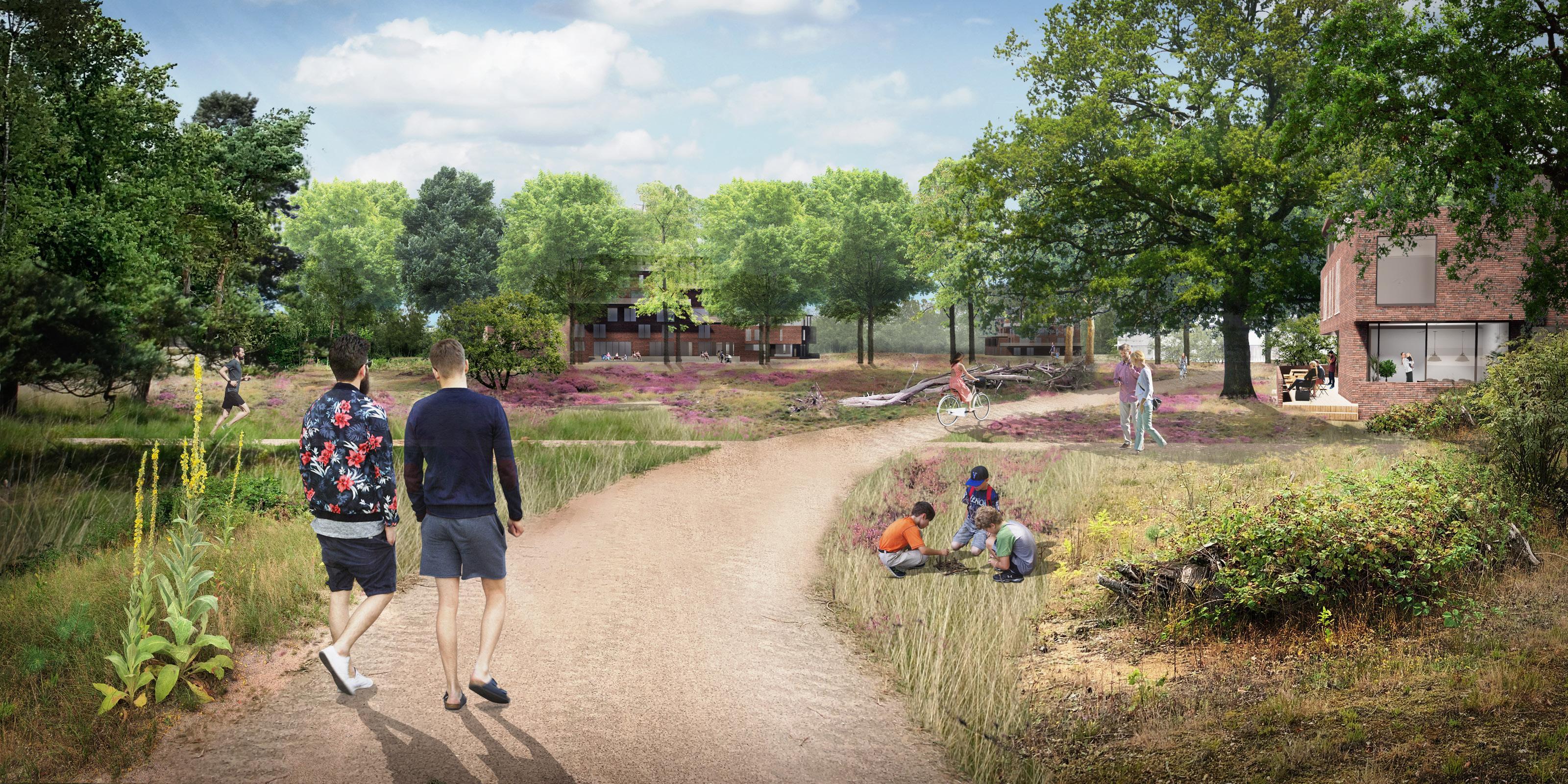 Nieuwe Crailo moet het 'buurtschap van de toekomst' worden; bouw begint mogelijk al in 2021