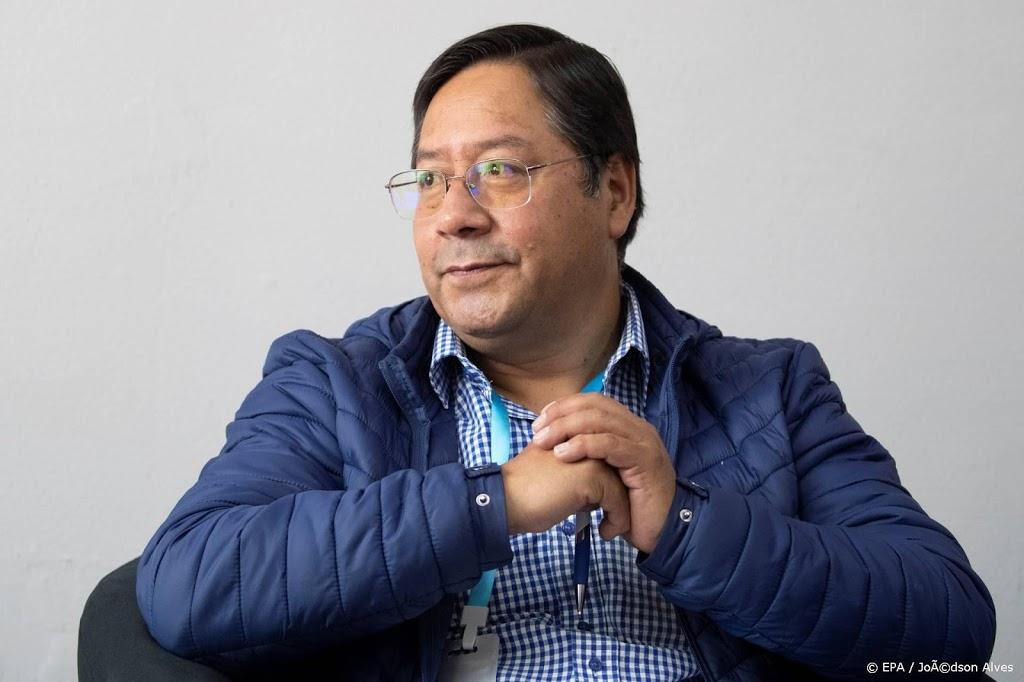 'Arce heeft presidentsverkiezingen Bolivia gewonnen'