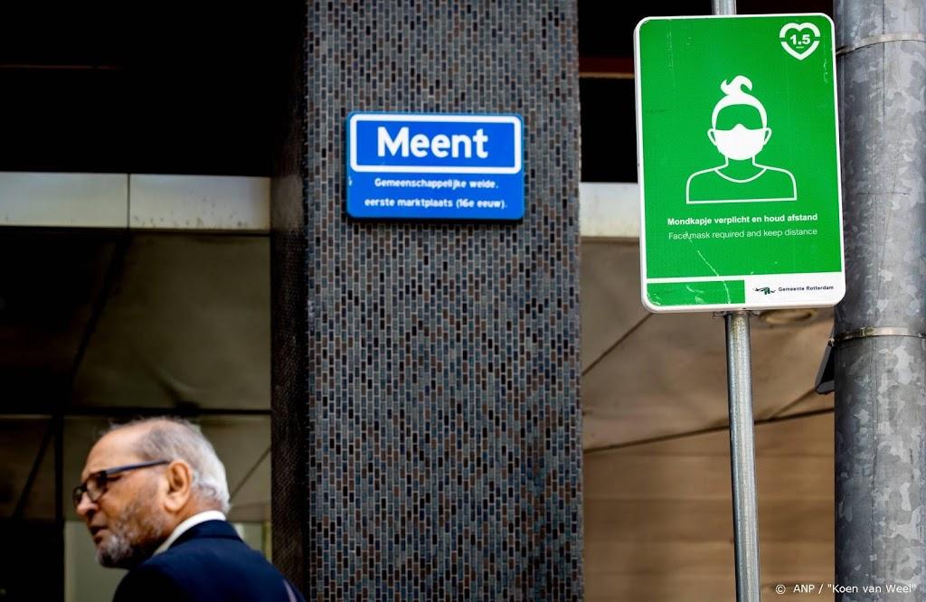Rotterdamse fietser vergeet massaal het mondkapje
