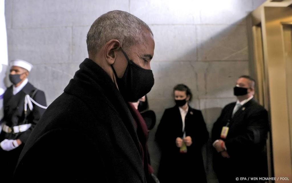 Voormalig president Obama prijst jury om vonnis ex-agent Chauvin