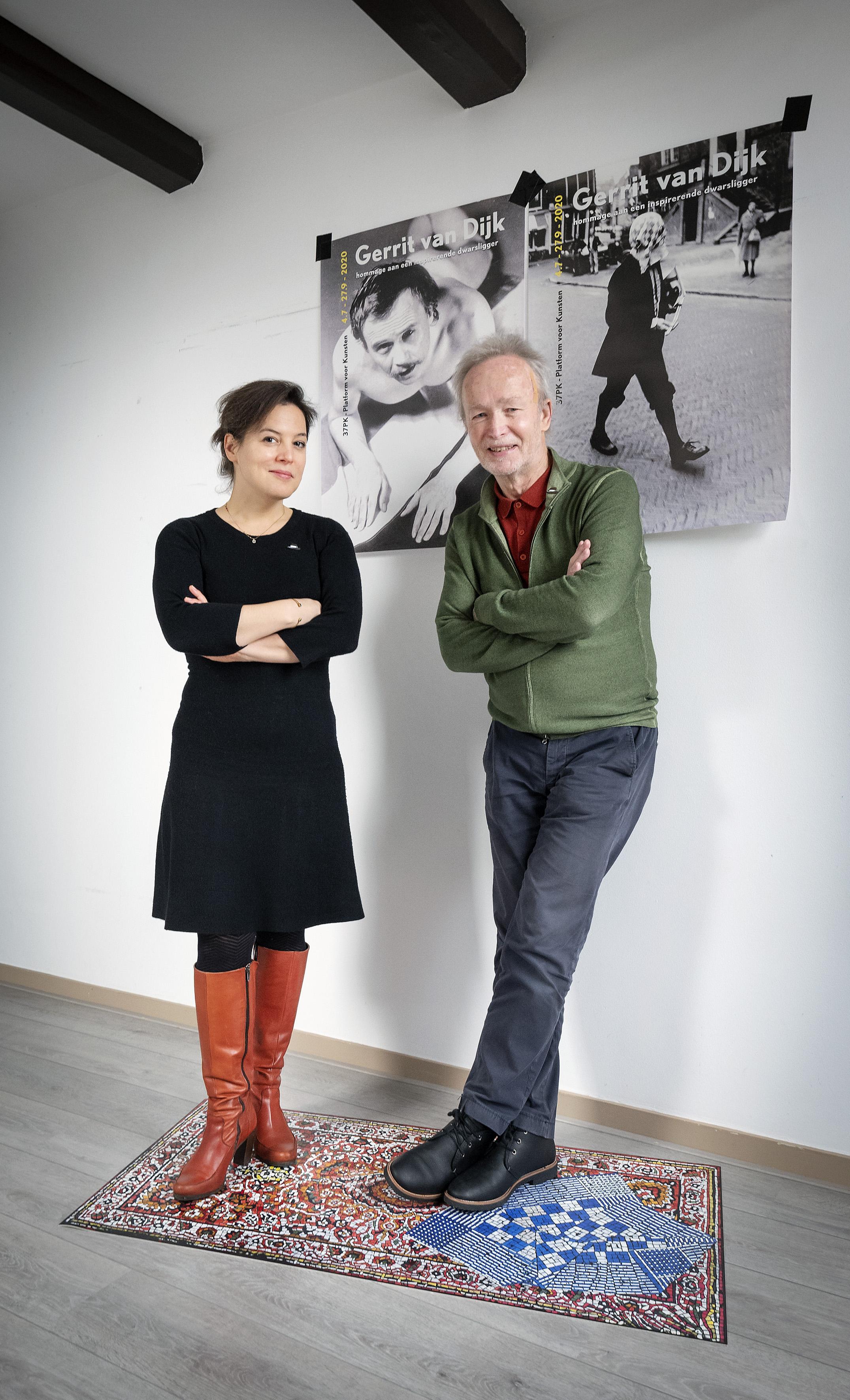 'Haarlem heeft criticasters nodig.' Emma Westermann en Jacques Overtoom eren de inspirerende dwarsligger Gerrit van Dijk