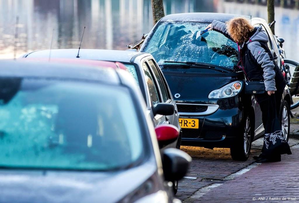 Eerste officiële matige vorst in ruim twee jaar tijd in De Bilt
