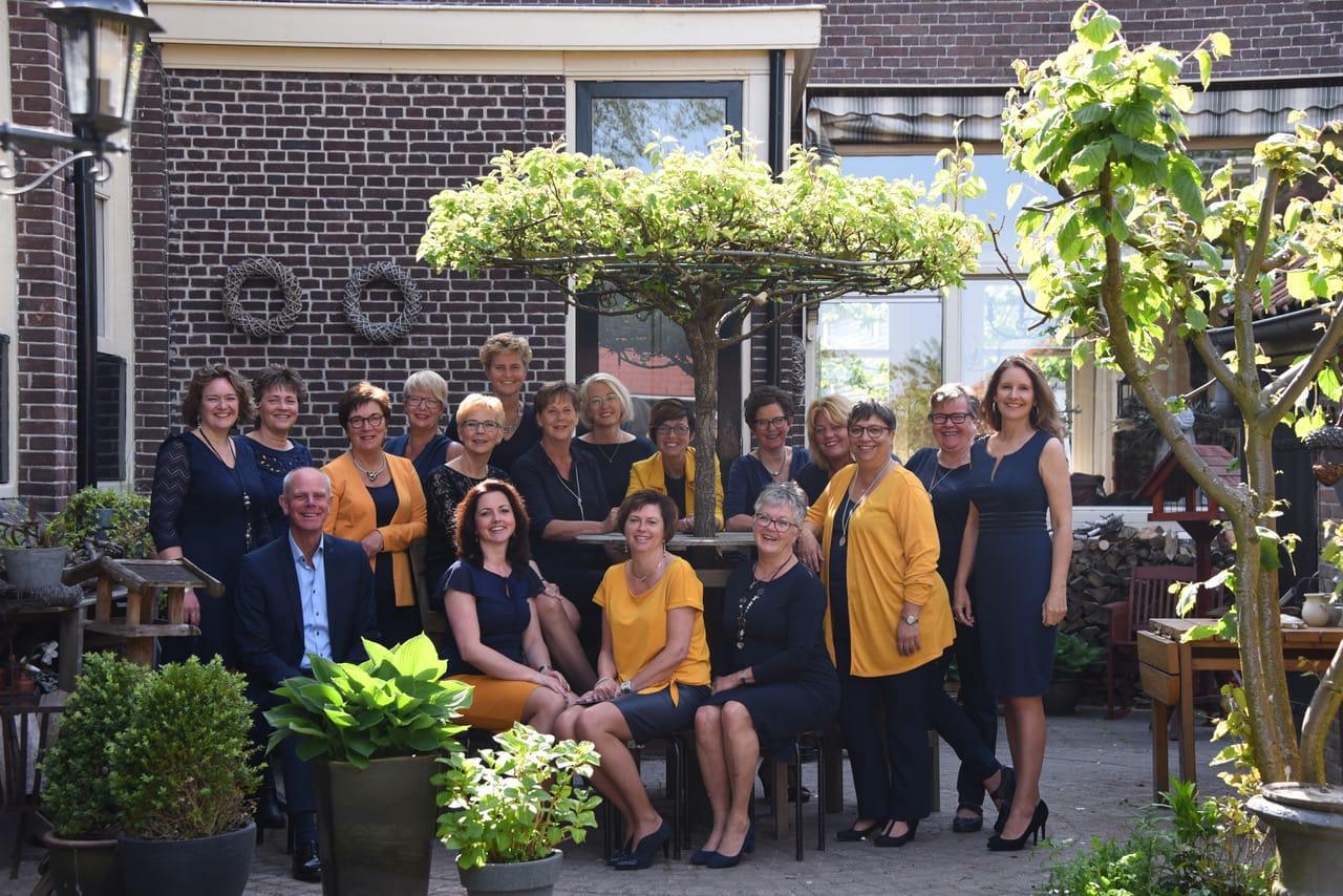 Koor Frank en Zij uit Spierdijk blijft strijdvaardig: 'Hopelijk beleven we een nieuw hoogtepunt aan het einde van het jaar'