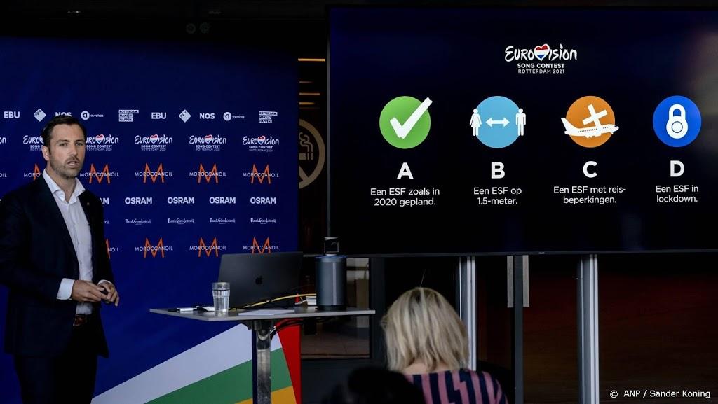 Organisatie geeft update over Eurovisiesongfestival