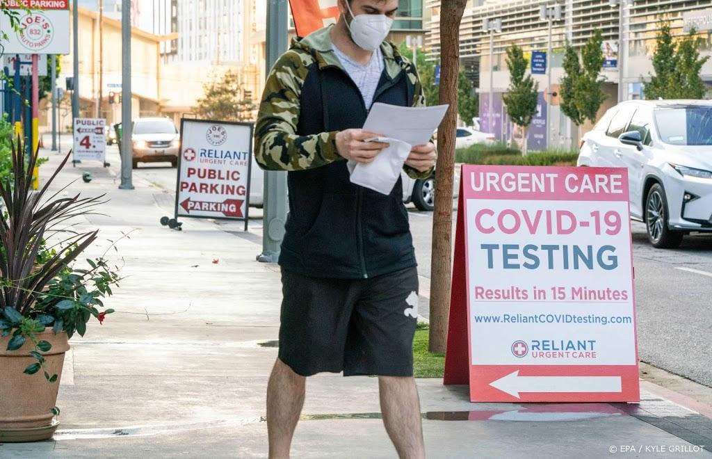 Coronavirus blijft vlak voor verkiezingen VS om zich heen grijpen